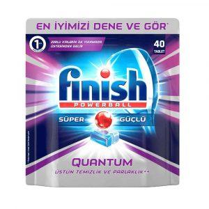 قرص ماشین ظرفشویی فینیش Quantum بسته 40 عددی