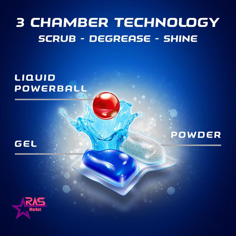 قرص ماشین ظرفشویی فینیش کوانتوم 15 عددی، بهداشت خانه ، محصولات ظرفشویی، خرید محصولات شوینده و بهداشتی، finish ، Quantum