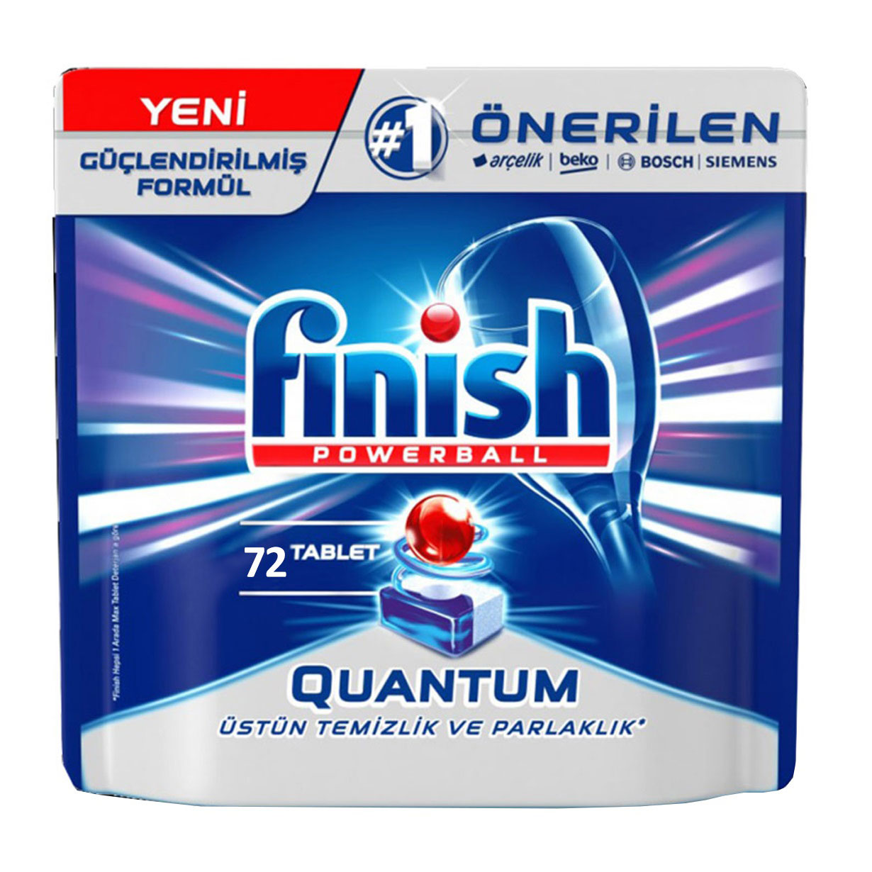 قرص ماشین ظرفشویی فینیش کوانتوم 72 عددی