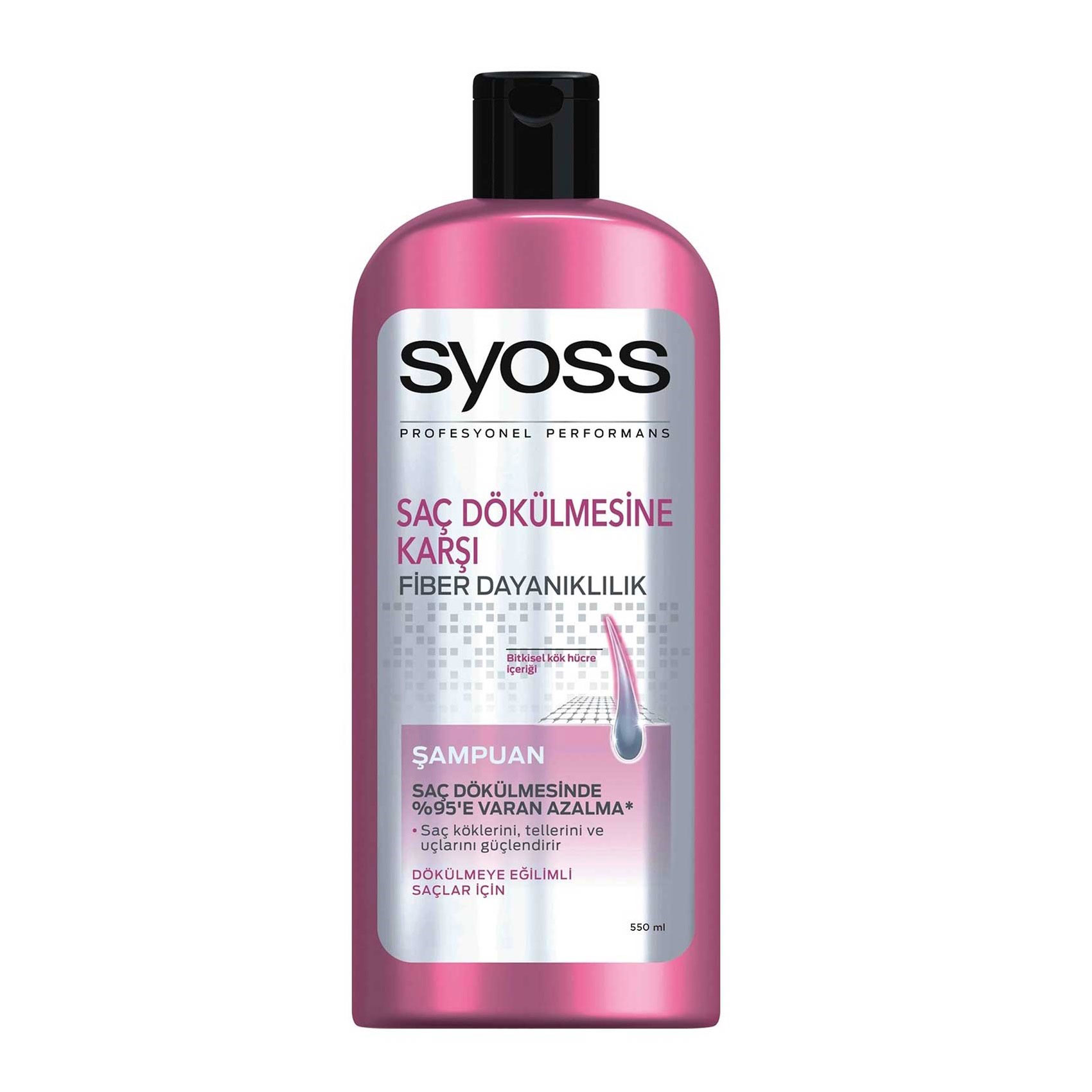 شامپو سایوس ضد ریزش مو Saç dökülmesine karşı حجم 550 میلی لیتر