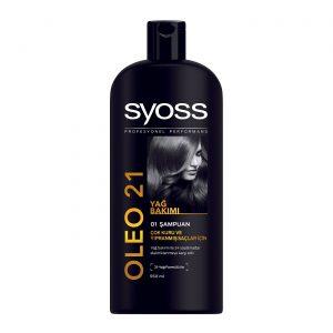 شامپو سایوس مخصوص موهای خشک و آسیب دیده مدل OLEO 21 حجم 550 میلی لیتر
