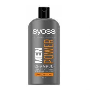 شامپو سایوس مردانه مدل Men Power حجم 500 میلی لیتر