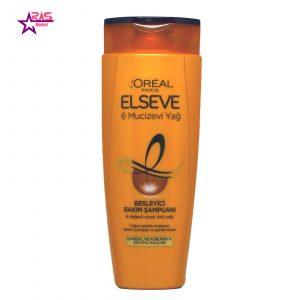 شامپو لورآل سری ELSEVE مدل 6 Mucizevi Yağ مخصوص موهای معمولی و خشک ۴۵۰ میلی لیتر ، فروشگاه اینترنتی ارس مارکت ، استحمام