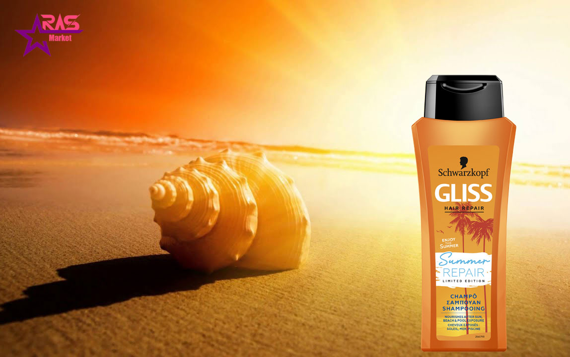 شامپو گلیس مدل Sun Protect محافظت کننده مو 525 میلی لیتر ، خرید اینترنتی محصولات شوینده و بهداشتی ، شامپو مو
