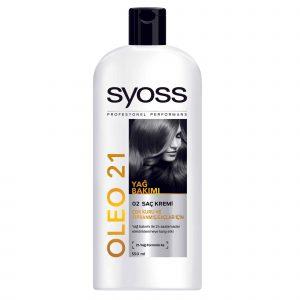 نرم کننده مو سایوس مخصوص موهای خشک و آسیب دیده مدل OLEO 21 حجم 550 میلی لیتر