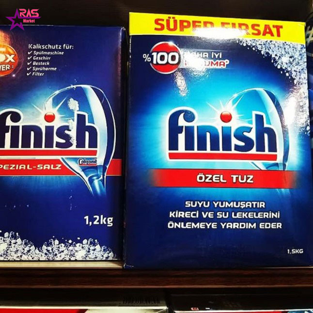 نمک ظرفشویی فینیش 15کیلوگرمی ، بهداشت خانه super firsat ، نمک ماشین ظرفشویی فینیش