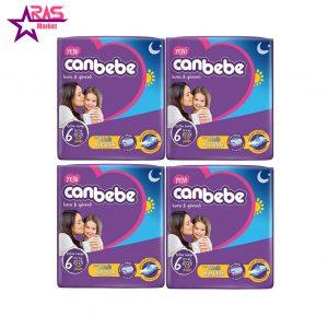 پوشک بچه جان به به سایز 6 بسته 24 عددی ، فروشگاه اینترنتی ارس مارکت ، محصولات کودک ،پوشک canbebe