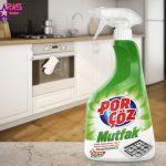 اسپری تمیز کننده سطوح آشپزخانه پورچوز 750 میلی لیتر ، فروشگاه اینترنتی ارس مارکت ، بهداشت خانه ، اسپری تمیزکننده آشپزخانه porcoz
