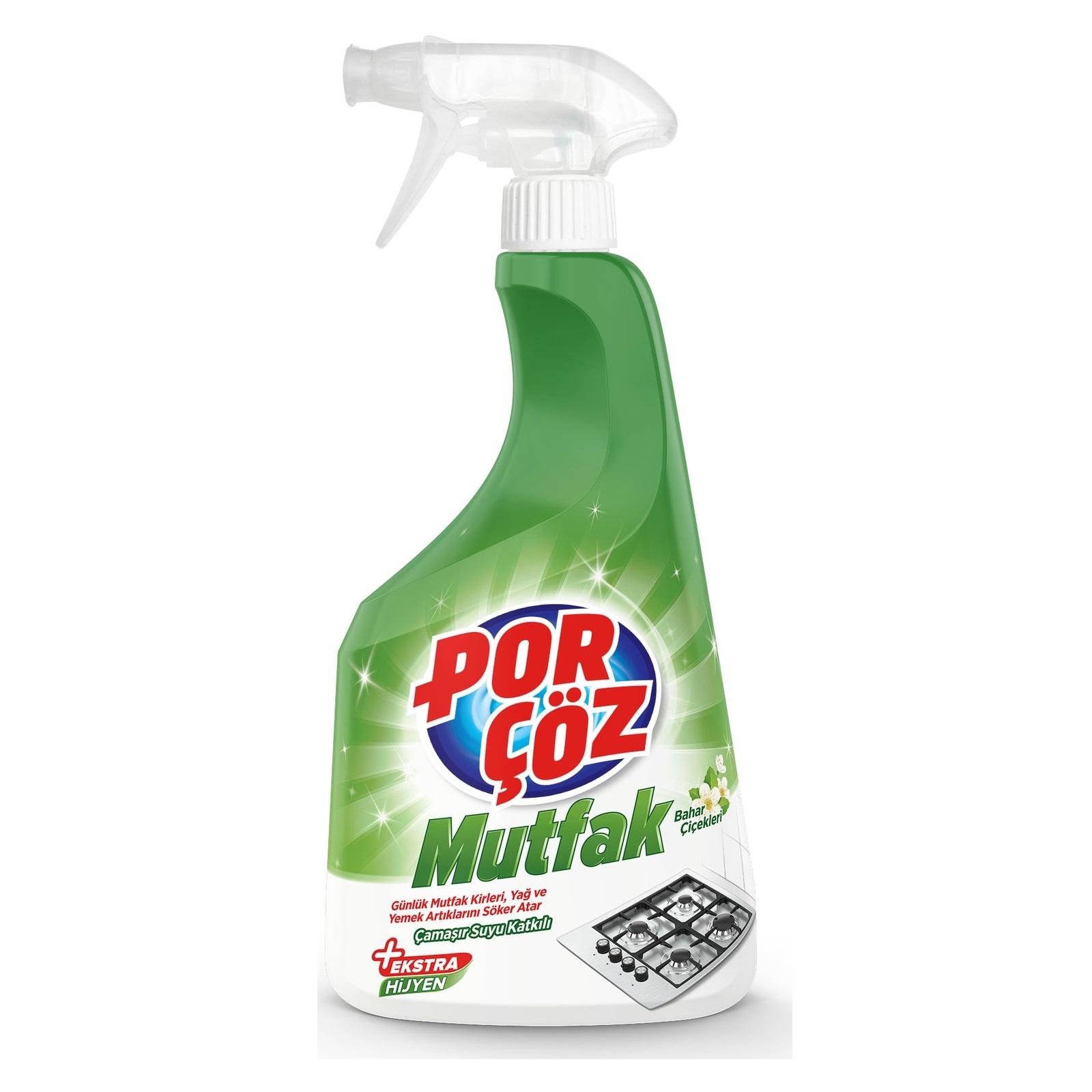 اسپری تمیز کننده سطوح آشپزخانه پورچوز 750 میلی لیتر