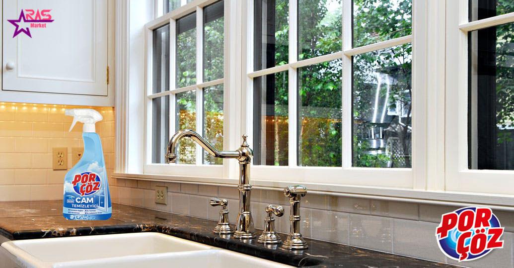 اسپری شیشه پاک کن پورچوز 750 میلی لیتر ، خرید اینترنتی محصولات شوینده و بهداشتی ، بهداشت خانه ، ارس مارکت