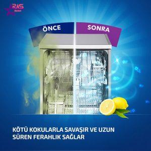 بوگیر ماشین ظرفشویی فینیش با رایحه لیمو ، فروشگاه اینترنتی ارس مارکت ، بهداشت خانه ، محصولات ظرفشویی