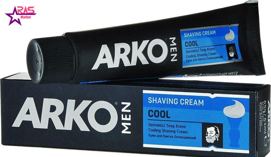 خمیر اصلاح آرکو مدل Cool خنک کننده 100 میلی لیتر ، خرید اینترنتی محصولات شوینده و بهداشتی ، بهداشت آقایان ، ارس مارکت