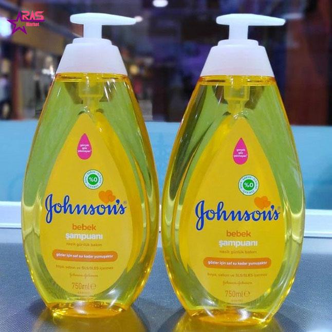 شامپو بچه جانسون 750 میلی لیتر ، فروشگاه اینترنتی ارس مارکت ، محصولات کودک ، johnsons shampoo