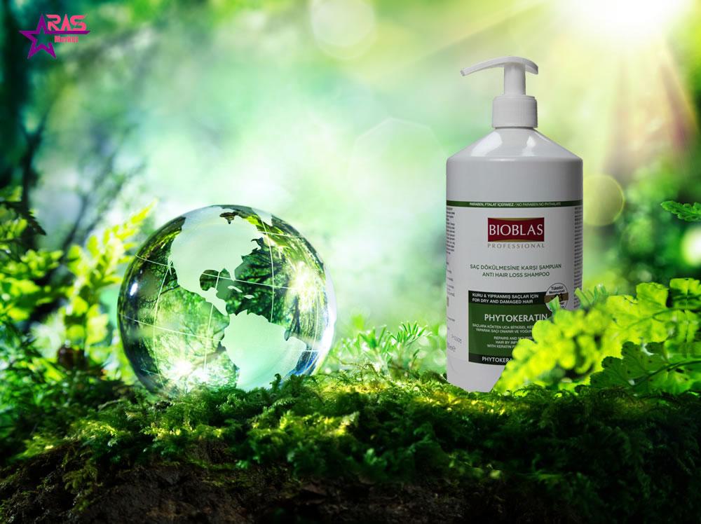 شامپو بیوبلاس مدل Phytokeratin ضد ریزش مو 1000 میلی لیتر ، خرید اینترنتی محصولات شوینده و بهداشتی ، استحمام ، شامپوی مو