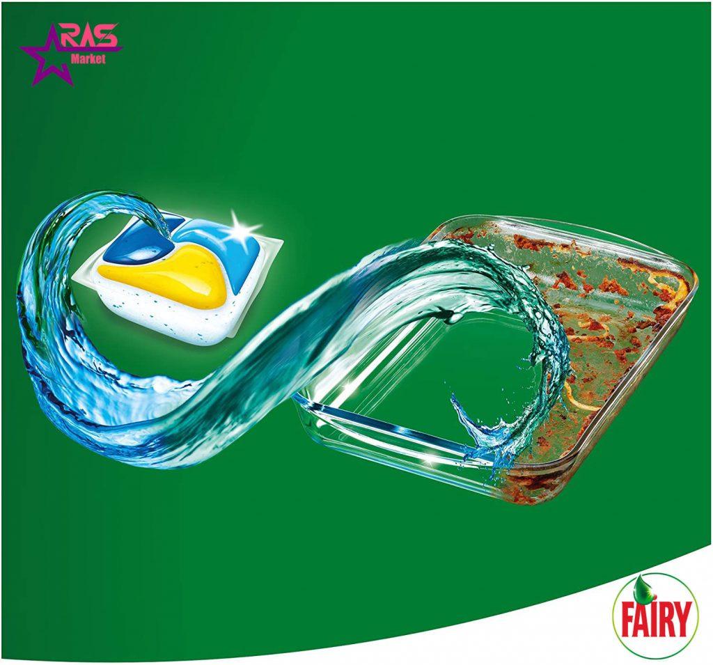 قرص ماشین ظرفشویی فیری پلاتینیوم 43 عددی ، خرید اینترنتی محصولات شوینده و بهداشتی ، بهداشت خانه ، ارس مارکت