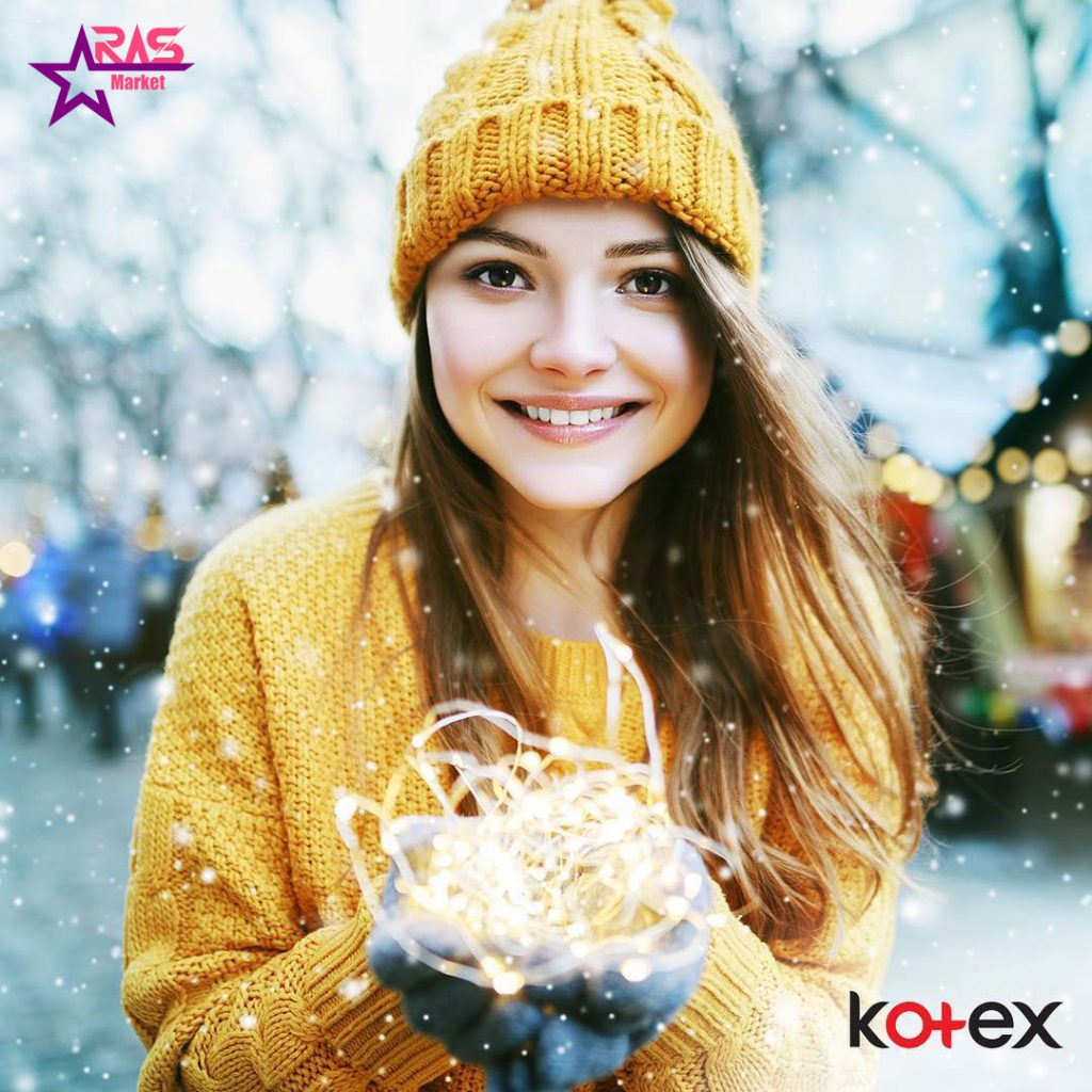 نوار بهداشتی کوتکس ACTIVE اندازه نرمال 24 عددی ، خرید اینترنتی محصولات شوینده و بهداشتی ، بهداشت بانوان ، kotex