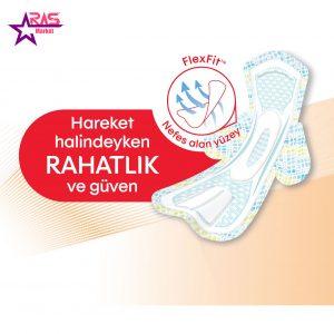 نوار بهداشتی کوتکس ACTIVE اندازه نرمال 24 عددی ، فروشگاه اینترنتی ارس مارکت ، بهداشت بانوان ، Kotex Ultra Sanitary Pad