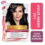 کیت رنگ مو لورآل سری Excellence شماره 1.01 ، فروشگاه اینترنتی ارس مارکت ، بهداشت بانوان