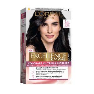 کیت رنگ مو لورآل سری Excellence شماره 1.01