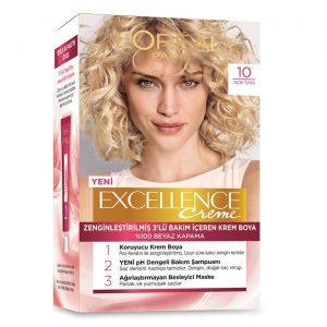 کیت رنگ مو لورآل سری Excellence شماره 10