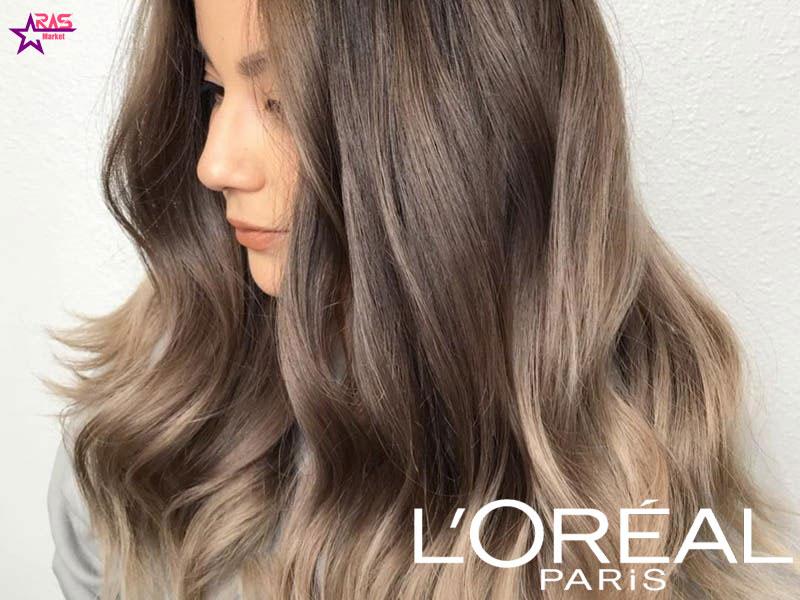 کیت رنگ مو لورآل سری Excellence شماره 6.1 ، خرید اینترنتی محصولات شوینده و بهداشتی ، بهداشت بانوان ، ارس مارکت ، loreal