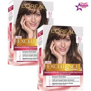 کیت رنگ مو لورآل سری Excellence شماره 6.1 ، فروشگاه اینترنتی ارس مارکت ، بهداشت بانوان ، رنگ مو loreal