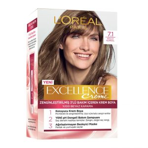 کیت رنگ مو لورآل سری Excellence شماره 7.1