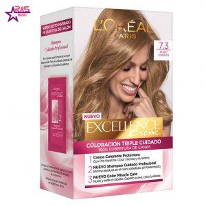 کیت رنگ مو لورآل سری Excellence شماره 7.3 ، فروشگاه اینترنتی ارس مارکت ، بهداشت بانوان ، LOREAL