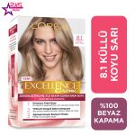 کیت رنگ مو لورآل سری Excellence شماره 8.1 ، فروشگاه اینترنتی ارس مارکت ، بهداشت بانوان