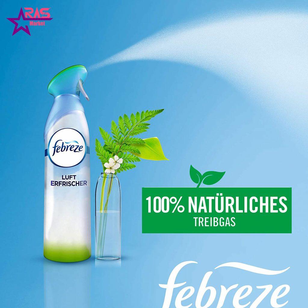 اسپری خوشبو کننده فبرز با رایحه گل های بهاری 300 میلی لیتر ، خرید اینترنتی محصولات شوینده و بهداشتی ، febreze freshener