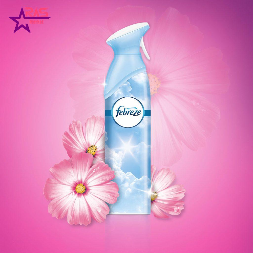 اسپری خوشبو کننده فبرز با رایحه گل های بهاری 300 میلی لیتر ، خرید اینترنتی محصولات شوینده و بهداشتی