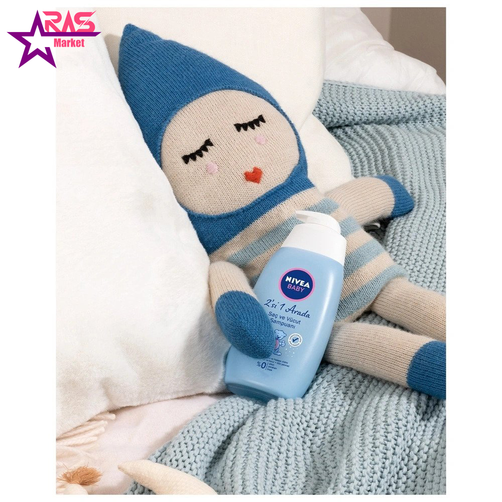 شامپو سر و بدن کودک نیوآ 750 میلی لیتر ، فروشگاه اینترنتی ارس مارکت ، بهداشت کودک ، محصولات کودک