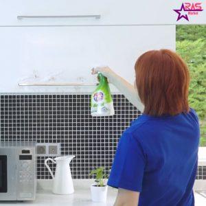 نحوه تمیز کردن کابینت آشپزخانه