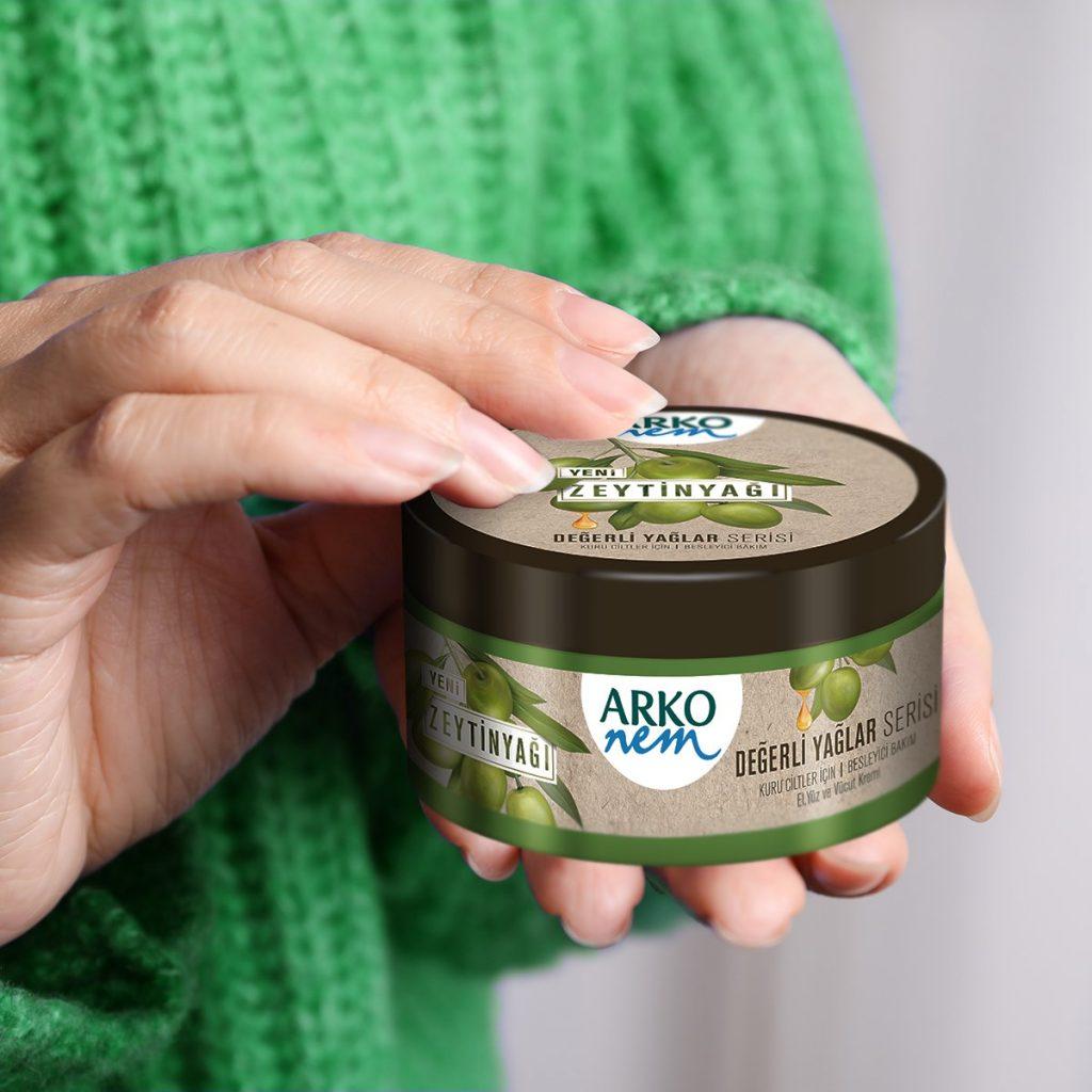 کرم مرطوب کننده آرکو نم حاوی روغن زیتون 250 میلی لیتر ، خرید اینترنتی محصولات شوینده و بهداشتی