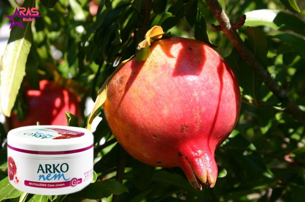 کرم مرطوب کننده آرکو نم حاوی عصاره انار و انگور قرمز 300 میلی لیتر ، خرید اینترنتی محصولات شوینده و بهداشتی