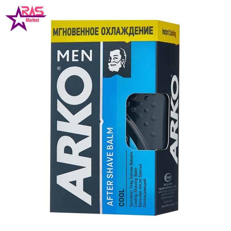 بالم افتر شیو آرکو مدل Cool حجم 150 میلی لیتر ، فروشگاه اینترنتی ارس مارکت ، پس از اصلاح آقایان آرکو