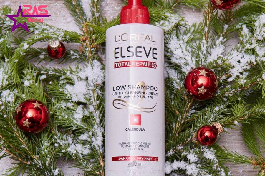شامپو لورآل بدون سولفات مخصوص موهای خشک و آسیب دیده 400 میلی لیتر ، خرید اینترنتی محصولات شوینده و بهداشتی ، loreal paris