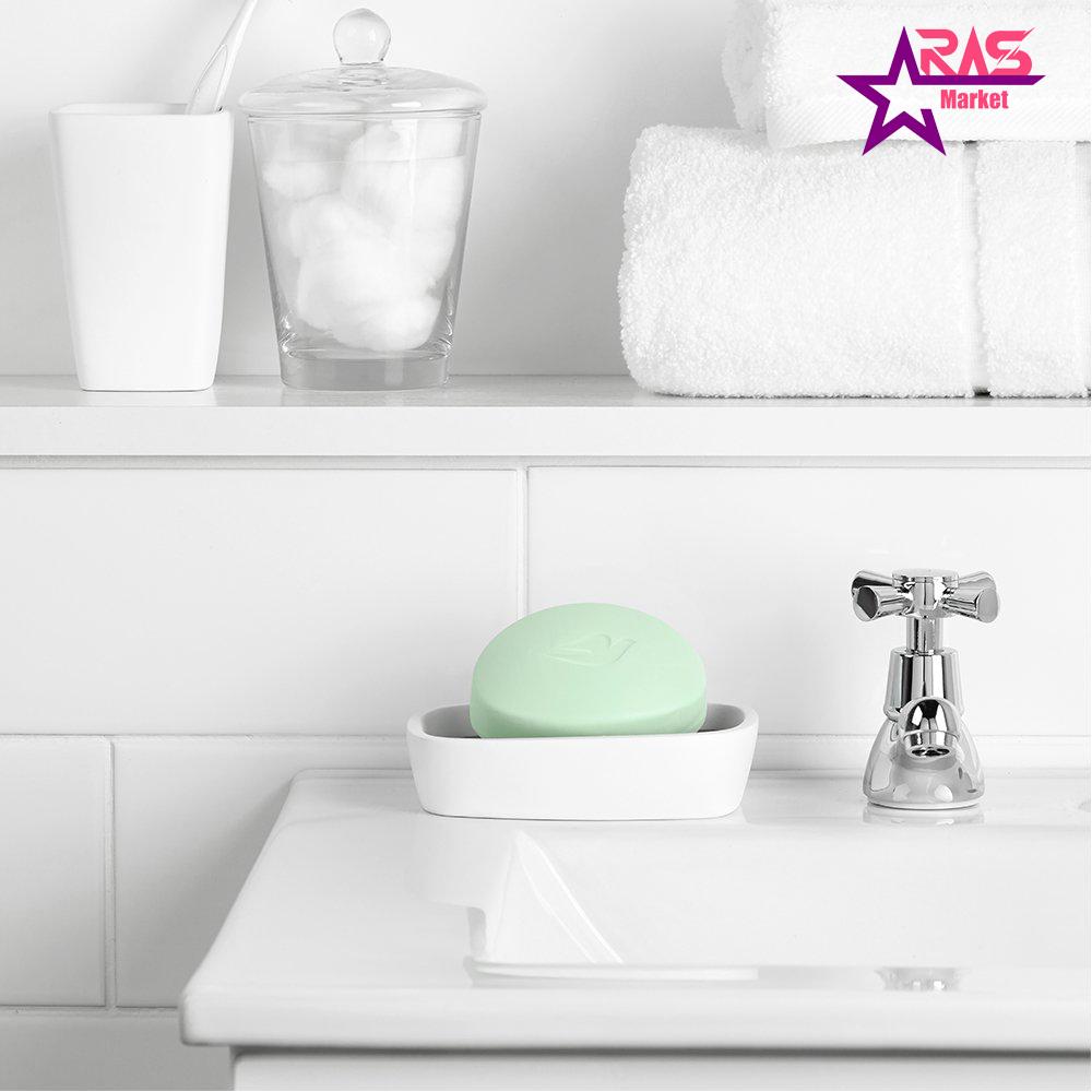 صابون داو مدل Fresh Touch حاوی عصاره خیار و چای سبز 100 گرم ، خرید اینترنتی محصولات شوینده و بهداشتی ، استحمام