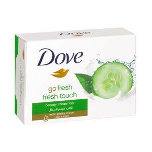 صابون داو مدل Fresh Touch حاوی عصاره خیار و چای سبز 100 گرم