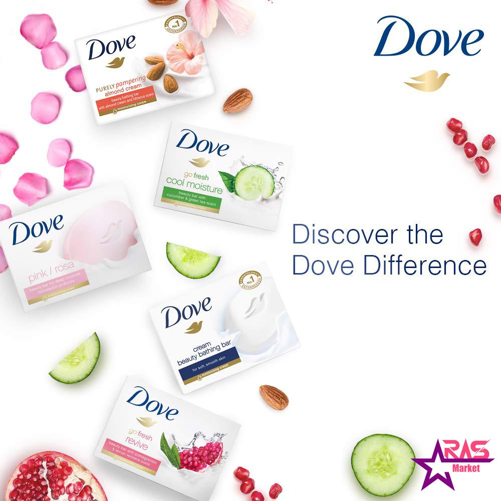 صابون داو مدل Revive حاوی عصاره انار و به لیمو 100 گرم ، خرید اینترنتی محصولات شوینده و بهداشتی ، ارس مارکت