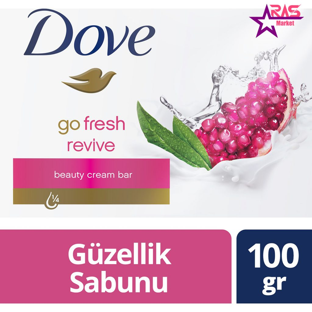 صابون داو مدل Revive حاوی عصاره انار و به لیمو 100 گرم ، خرید اینترنتی محصولات شوینده و بهداشتی