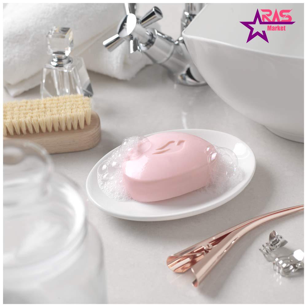 صابون داو مدل pink با رایحه گل رز 100 گرم ، خرید اینترنتی محصولات شوینده و بهداشتی ، استحمام