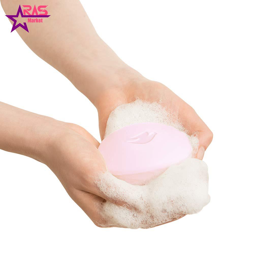 صابون داو مدل pink با رایحه گل رز 100 گرم ، فروشگاه اینترنتی ارس مارکت ، استحمام