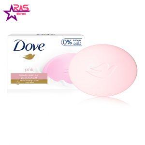 صابون داو مدل pink با رایحه گل رز 100 گرم ، فروشگاه اینترنتی ارس مارکت ، صابون dove