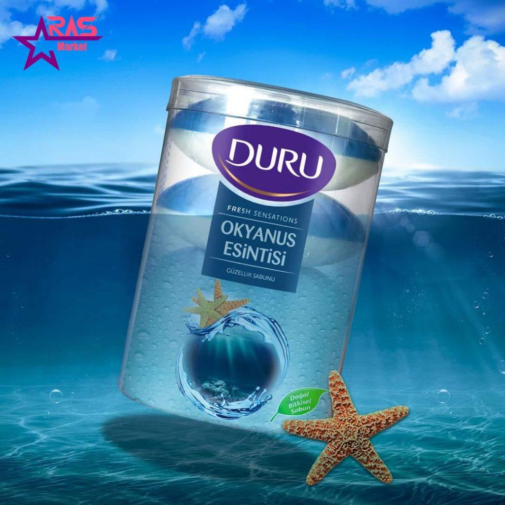 صابون دورو سری fresh sensations با رایحه نسیم اقیانوس 4 عددی ، خرید اینترنتی محصولات شوینده و بهداشتی