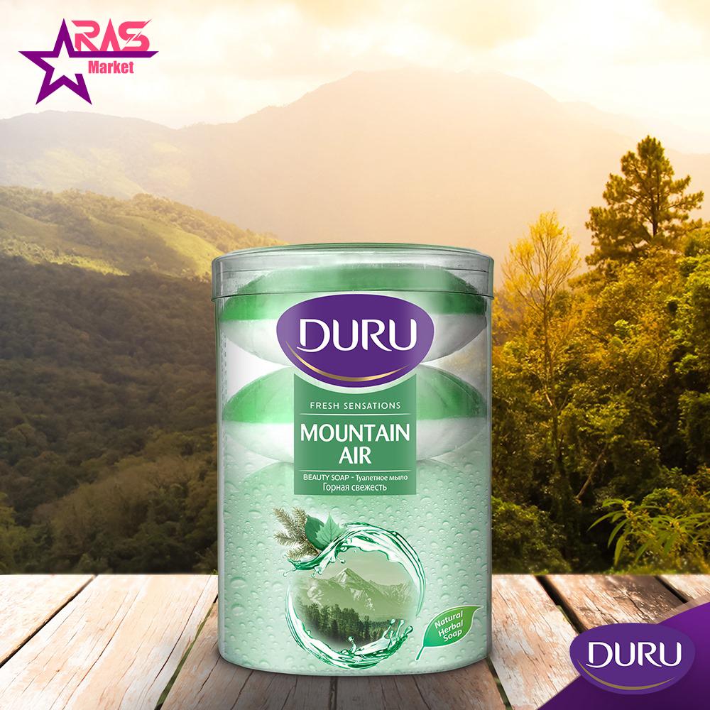 صابون دورو سری fresh sensations با رایحه هوای کوهستان 4 عددی ، خرید اینترنتی محصولات شوینده و بهداشتی