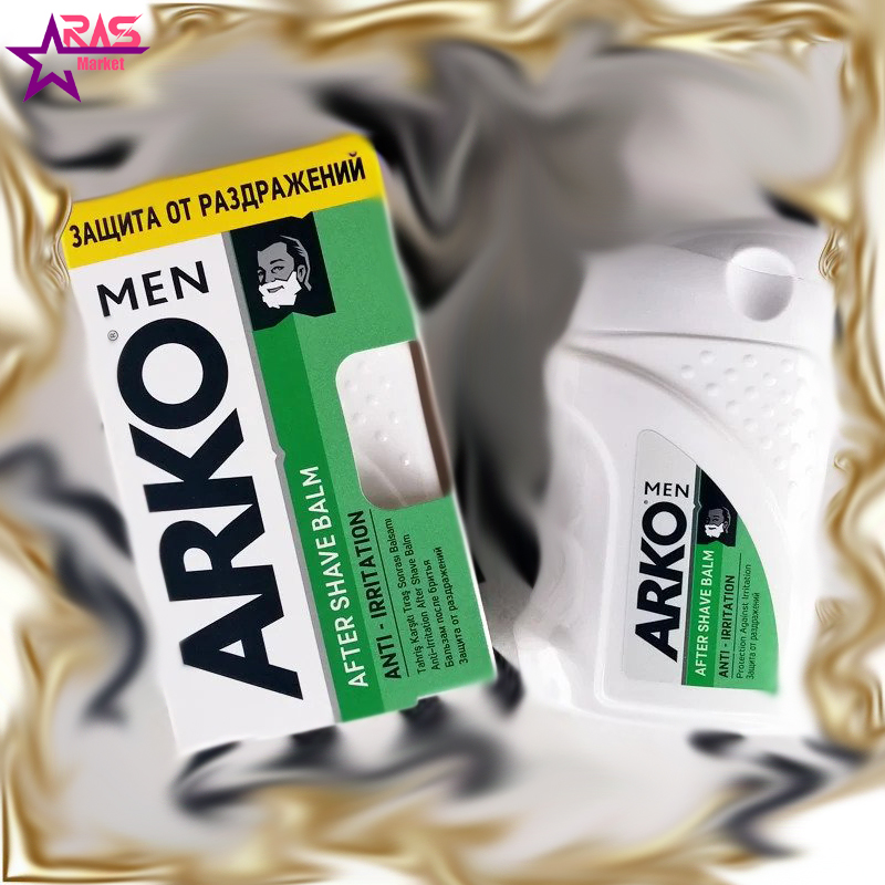 بالم افتر شیو آرکو مدل Anti-Irritation حجم 150 میلی لیتر ، فروشگاه اینترنتی ارس مارکت ، arko men after shave balm
