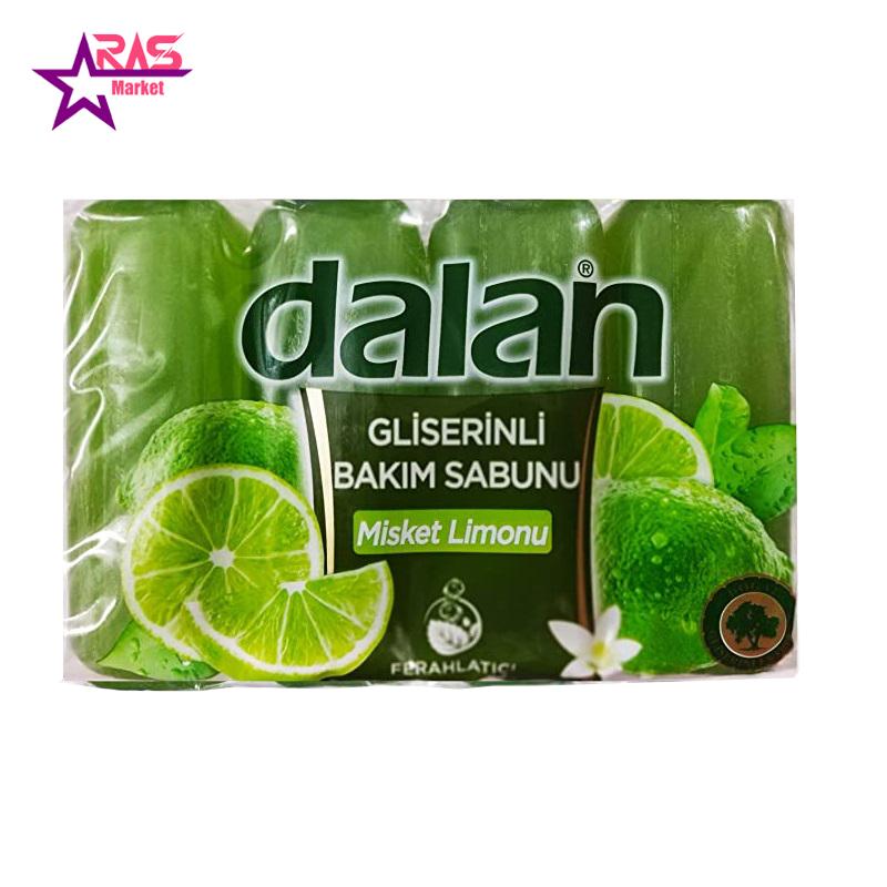 صابون دالان حاوی گلیسیرین و عصاره لیمو 4 عددی ، فروشگاه اینترنتی ارس مارکت ، استحمام