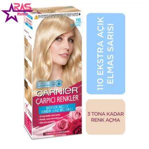 کیت رنگ مو گارنیر سری Çarpıcı Renkler شماره 110 ، فروشگاه اینترنتی ارس مارکت ، بهداشت بانوان
