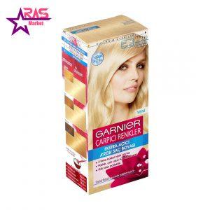 کیت رنگ مو گارنیر سری Çarpıcı Renkler شماره 110 ، فروشگاه اینترنتی ارس مارکت ، کیت رنگ موی گارنیر